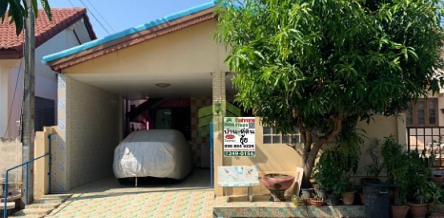 หมู่บ้าน พรธิสาร4 รังสิต-นครนายก คลอง6  ขายด่วน บ้านเดี่ยว ชั้นเดียว  เนื้อที่ 32 ตร.ว   คลองหลวง ปทุมธานี ตกแต่งครบ พร้อมอยู่