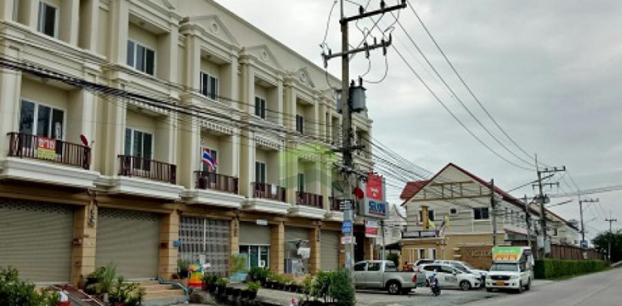 ขาย / เช่า หมู่บ้าน วิคทอเรีย ไพร์เวท ซิตี้ (Victoria Private City) ขายด่วน อาคารพาณิชย์  3 ชั้น เนื้อที่ 21 ตร.ว บางนาตราด กม. 37  หอมศีล บางปะกง ฉะเชิงเทรา