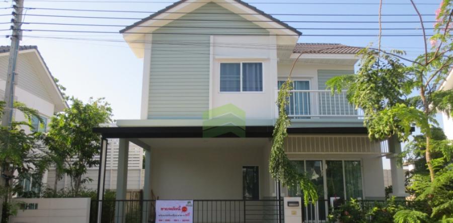ขาย บ้านเดี่ยว 2 ชั้น เนื้อที่ 50.60 ตร.ว. หมู่บ้าน อิคอนเนเจอร์ พระราม 2 ซอยเทียนทะเล 19 สภาพใหม่ สวย ขายถูก