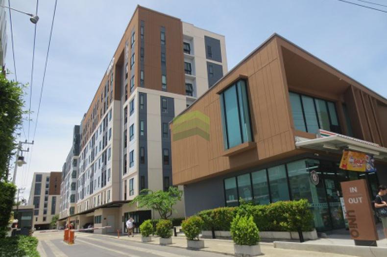 คอนโด ยูนิโอ พระราม2 ท่าข้าม UNIO Rama 2-Thakham ขายด่วน คอนโด เนื้อที่ 26.65 ตร.ม อาคาร A ชั้น 6 ห้องใหม่ ไม่เคยเข้าอยู่