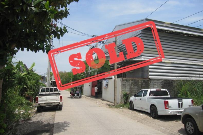ขายโรงงาน โกดัง บ้านพัก ซอยศรีด่าน 9/5, ถนนศรีนครินทร์ สำโรงเหนือ เมืองสมุทรปราการ สมุทรปราการ เนื้อที่  154 ตรว