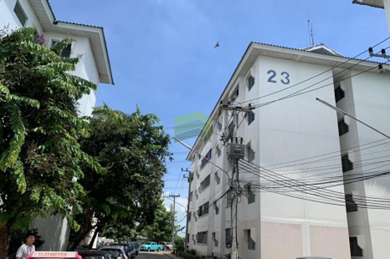 หมู่บ้าน เอื้ออาทร บางคูวัด ปทุมธานี ขายด่วน ห้องชุด เนื้อที่ 31.82 ตร.ม ชั้น 3 ห้องมุม ทำเลดี พร้อมอยู่อาศัย