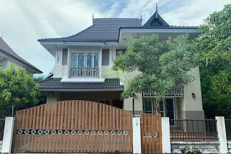 หมู่บ้าน อารีนา การ์เด้นท์ บางนา สุวรรณภูมิ Arena Garden Bangna-Suvarnabhumi ขายด่วน บ้านเดี่ยว 2 ชั้น เนื้อที่ 59.90 ตร.ว แปลงมุม แต่งสวย พร้อมอยู่