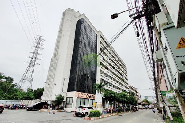 ที.ซี.ทาวเวอร์ T.C.Tower ขายด่วน คอนโด 32 ตร.ม เฟอร์ฯครบ ตกแต่งใหม่ ราคาถูก ใกล้ MRT ห้วยขวาง