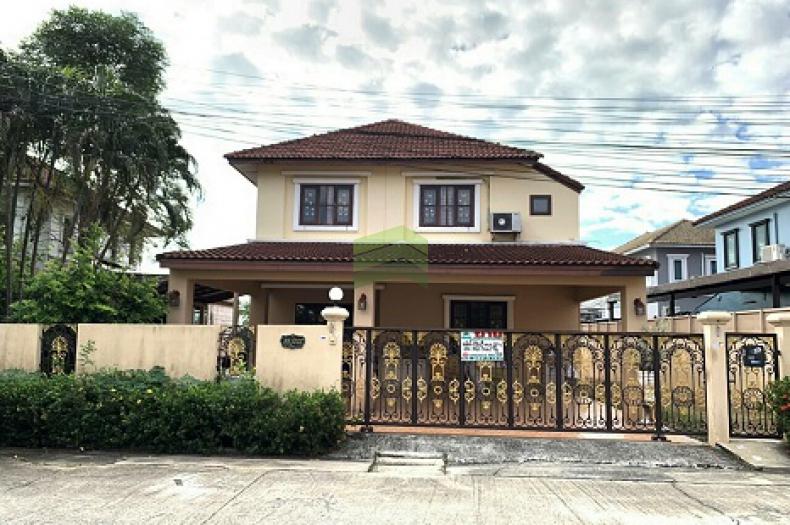 หมู่บ้าน เคซีกรีนวิลล์ หนองจอก ขายด่วน บ้านเดี่ยว 2 ชั้น เนื้อที่ 86.80 ตรว. ถนนมิตรไมตรี ซ.10/1 หนองจอก กรุงเทพฯ