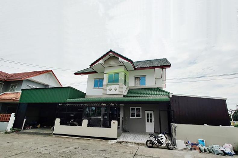 หมู่บ้าน ประภาวรรณโฮม 3 ขายด่วน บ้านเดี่ยว 2 ชั้น เนื้อที่ 58 ตร.ว บึงขวาง สุวินทวงศ์ ราคาต่อรองได้