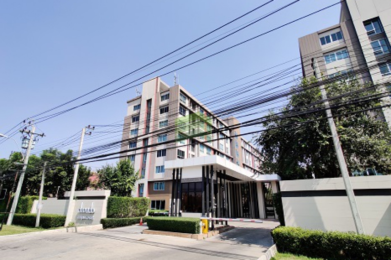 ดี คอนโด แคมปัส รีสอร์ท บางนา D-Condo Campus Resort Bangna ขาย - ให้เช่าด่วน คอนโด 30 ตร.ม ชั้น 5 ตึก summer A พร้อมเฟอร์ครบชุด ราคาต่อรองได้