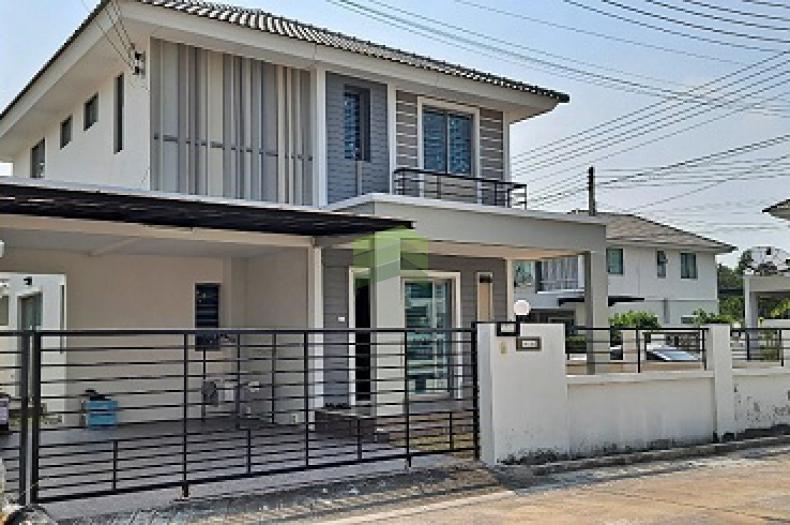 หมู่บ้าน แฟมิลี่ ซิตี้ พานทอง3 Family City Panthong 3 ขายด่วน บ้านเดี่ยว 2 ชั้น เนื้อที่ 50.80 ตร.ว แปลงมุม พร้อมอยู่