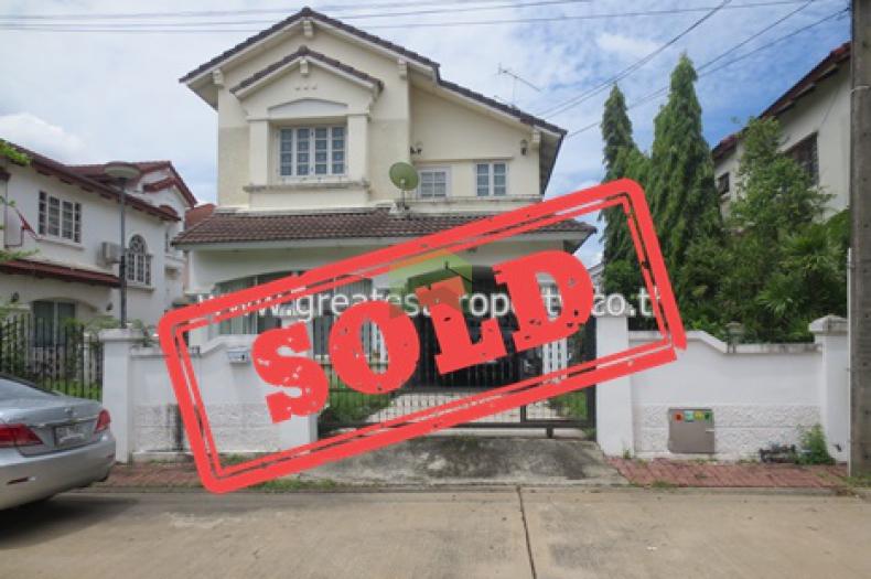 ++ขายด่วน++ บ้านเดี่ยว 2 ชั้น เนื้อที่ 70 ตรว. หมู่บ้านสีวลี 2  รังสิต-นครนายก วิภาวดี รังสิต ประชาธิปัตย์ ธัญบุรี ปทุมธานี