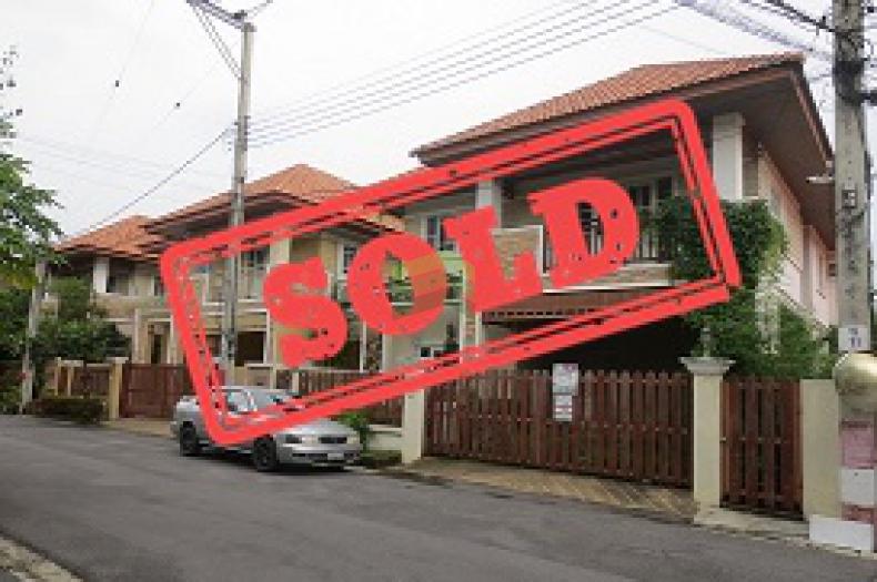 ขายด่วน บ้านเดี่ยว 2 ชั้น 55.4 ตร.ว หมู่บ้านนนทรี 4 ถนนนครอินทร์ บางศรีเมือง เมือง นนทบุรี