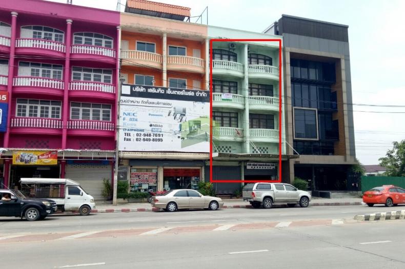 ขายด่วน อาคารพาณิชย์ 4 ชั้น 2 คูหา สุขาภิบาล5 ซอย 20 เนื้อที่ 37.30 ตร.ว ทำเลดี เหมาะประกอบกิจการ ออฟฟิต พักอาศัย