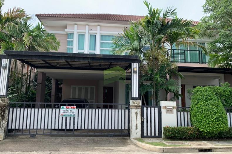 ขายบ้านเดี่ยวด่วน หมู่บ้าน บางกอก บูเลอวาร์ด รามอินทรา3 (Bangkok Boulevard Ramintra 3) เนื้อที่ 53.90 ตร.ว คันนายาว กทม