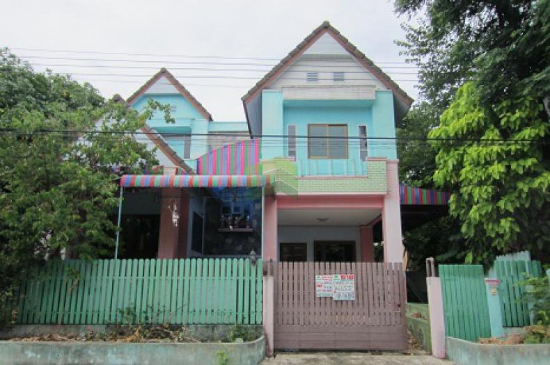 หมู่บ้าน คุณาลัย เทียนทะเล ขายด่วน บ้านเดี่ยว 2 ชั้น  เนื้อที่ 60 ตร.ว พระราม2 ท่าข้าม บางขุนเทียน ราคาไม่แพง