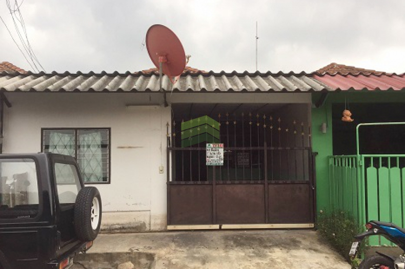 หมู่บ้าน พฤกษา2 รังสิต คลอง 8 ขายด่วน ทาวน์เฮ้าส์ชั้นเดียว  เนื้อที่ 18 ตร.ว ถนนรังสิต-นครนายก ธัญบุรี  ปทุมธานี สภาพดี พร้อมอยู่