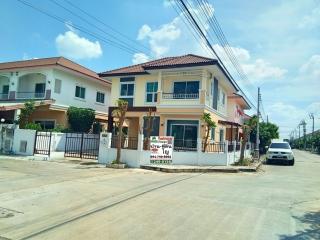 N0600872, หมู่บ้าน นนทวีวิลล์5 หนองจอก ขายด่วน บ้านเดี่ยว 2 ชั้น แปลงมุม เนื้อที่ 51.10 ตรว. ถนนมิตรไมตรี ซ.6/4 หนองจอก