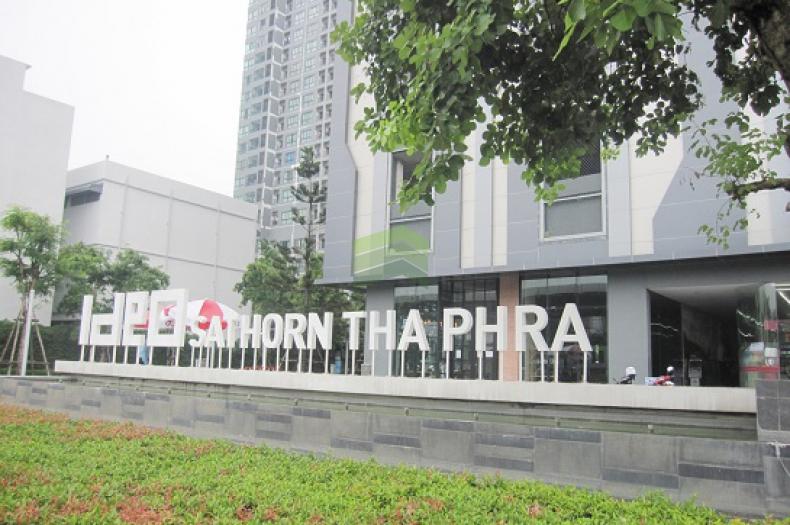 คอนโด ไอดีโอ สาทร ท่าพระ (IDEO Sathorn thaphra) ขายด่วน คอนโด 31.47 ตร.ม ห้องมุม ชั้น 21 วิวรถไฟฟ้า ราคาถูก สภาพใหม่ พร้อมอยู่อาศัย ใกล้ BTS โพธิ์นิมิตร