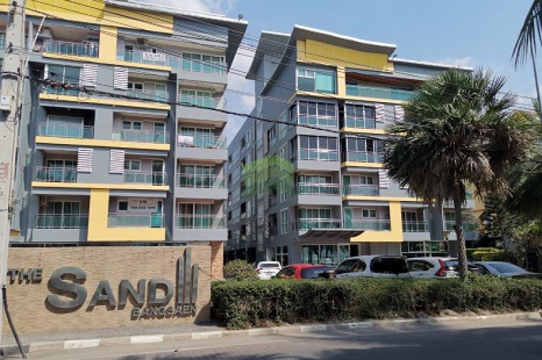 คอนโด เดอะแซนด์ บางแสน ชลบุรี ขาย /ให้เช่าด่วน The Sand Bangsaen Condo เนื้อที่ 46.59 ตร.ม ชั้น 5 แสนสุข เมืองชลบุรี แต่งสวย พร้อมอยู่