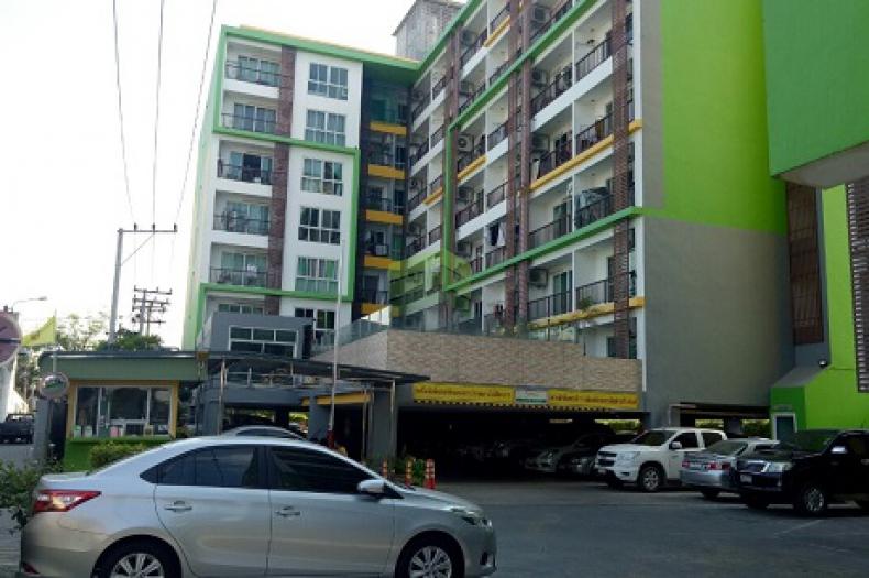 เดอะ กรีน คอนโดมิเนียม 2 (The Green Condominium II) บางนา ชั้น6 อาคารบี ขายด่วน คอนโด เนื้อที่ 30.46 ตรม. ปุณณวิถี 47 วชิรธรรมสาธิต101 บางจาก พระโขนง ใกล้รถไฟฟ้า BTS ปุณณวิถี ห้องมุม