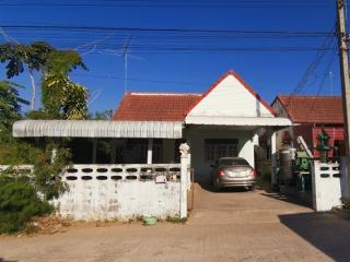 N0600966, หมู่บ้าน โชคอนันต์ 1 โคกกรวด ขายด่วน บ้านเดี่ยวชั้นเดียว เนื้อที่ 50 ตร.ว ทำเลดี ใกล้ตัวเมืองนครราชสีมา