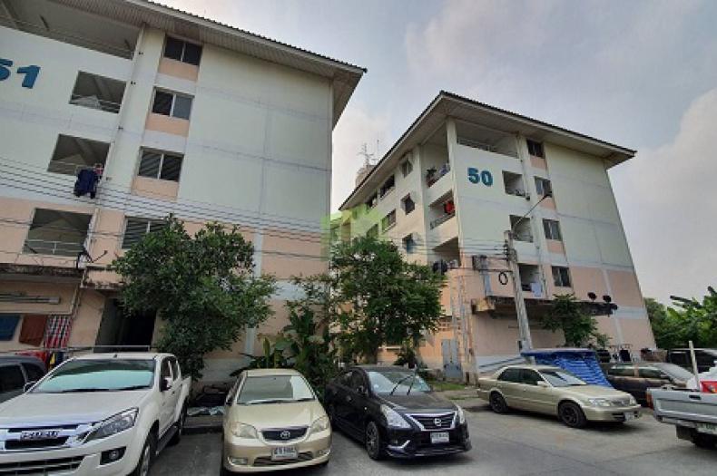 บ้านเอื้ออาทร บางใหญ่ ซอยวัดพระเงิน ขายด่วน ห้องชุด ชั้น 5 เนื้อที่ 33.40 ตรม. ถนนกาญจนาภิเษก ปลายบาง บางกรวย นนทบุรี