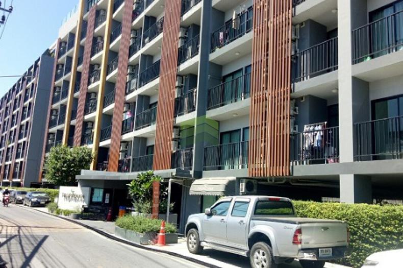 คอนโด ทรอปิคาน่า เอราวัณ Tropicana BTS Erawan ขายด่วน คอนโดห้องชุด อาคารบี ชั้น 2 เนื้อที่ 29.20 ตร.ม. ทำเลดี พร้อมเฟอร์ฯ