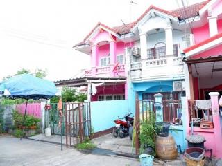 N0601101, หมู่บ้าน แพรมาพร รังสิต คลอง 4 ขายด่วน ทาวน์เฮ้าส์ 2 ชั้น เนื้อที่ 18 ตร.ว ธัญบุรี ปทุมธานี ต่อเติมแล้ว ราคาไม่แพง